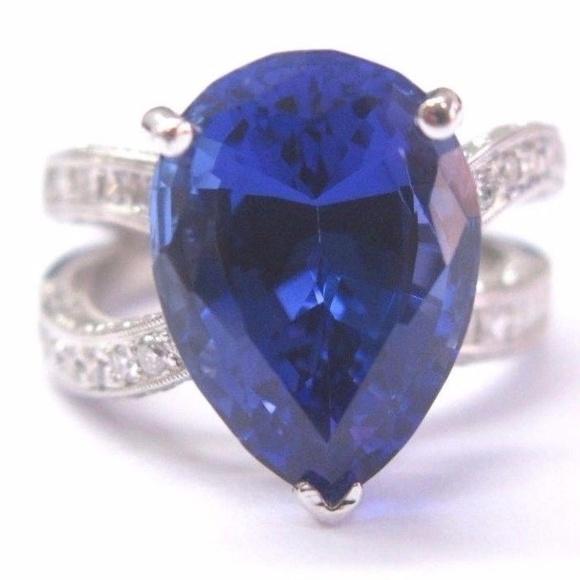 93c494e4d Jewelry | 18kt Gem Tanzanite Diamond White Gold Anniversary | Poshmark